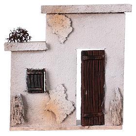 Fachada casita oriental para belén de 10 cm - 15x15x5 s1