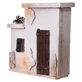 Fachada casita oriental para belén de 10 cm - 15x15x5 s2