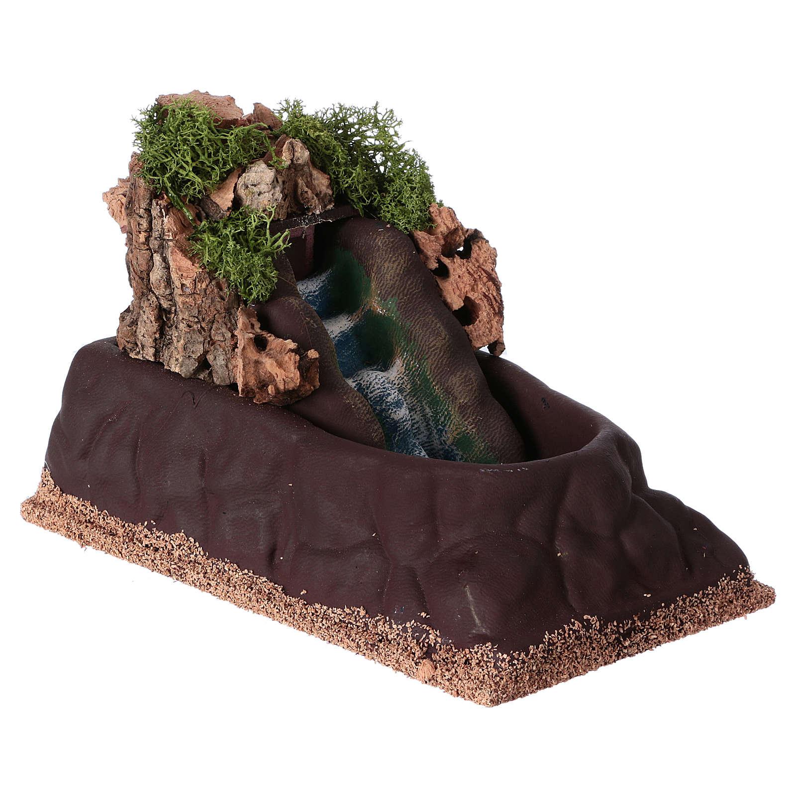 Cascada para belén para estatuas de 6-8 cm de altura media. 15x10x20 4