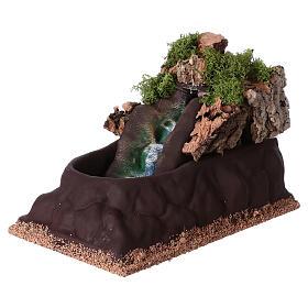 Cascada para belén para estatuas de 6-8 cm de altura media. 15x10x20 s2