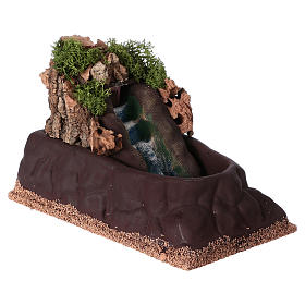 Cascada para belén para estatuas de 6-8 cm de altura media. 15x10x20 s3