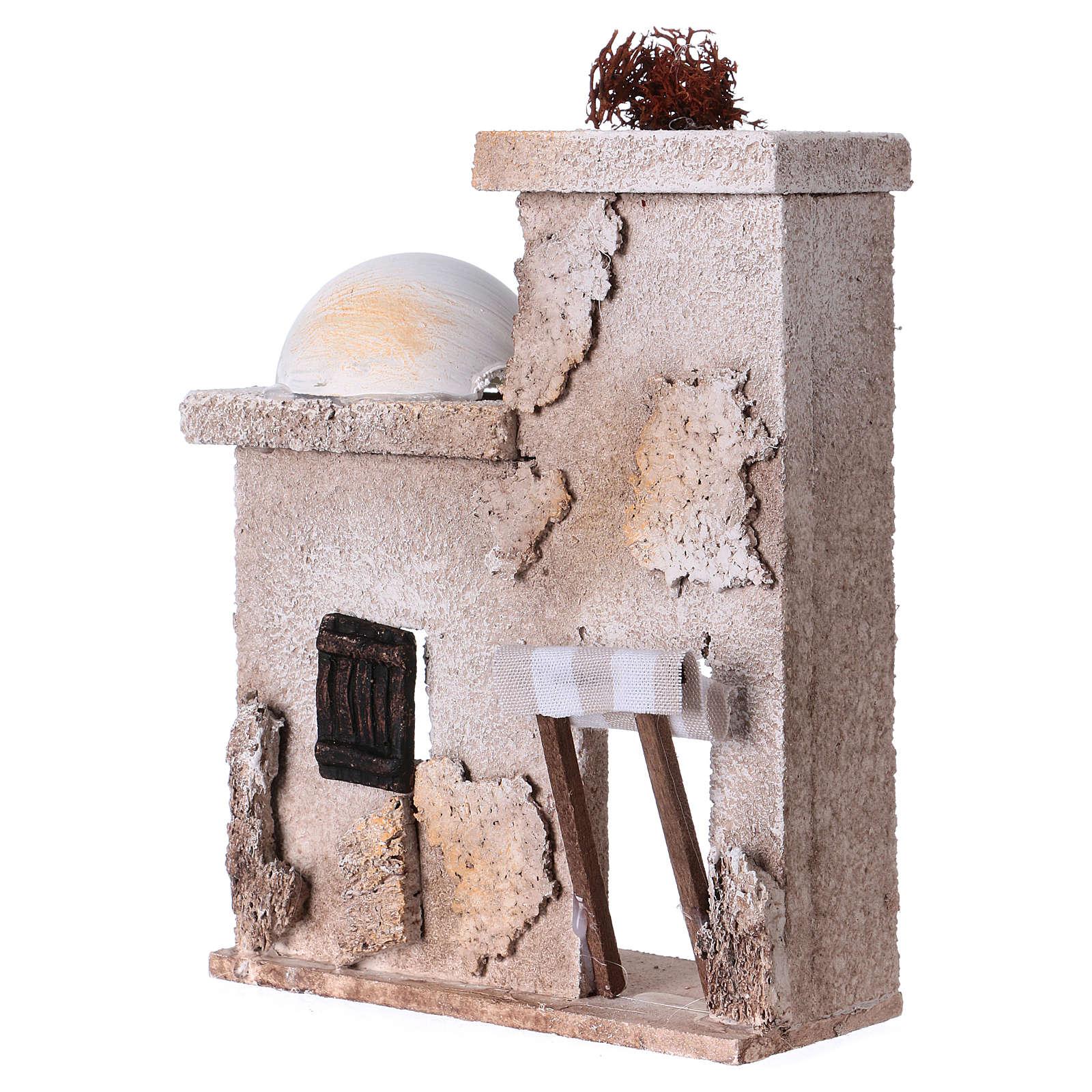 Casita árabe cm 15x15x5 para estatuas de 7 cm  4