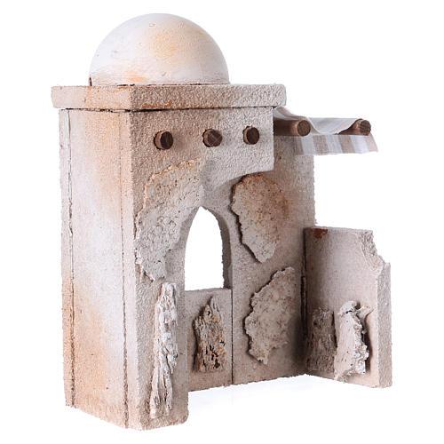 Capanna araba 20x15x10 cm adatta a statue presepe di 7 cm  3