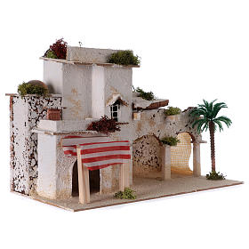 Maison arabe crèche 35x20x20 cm s3