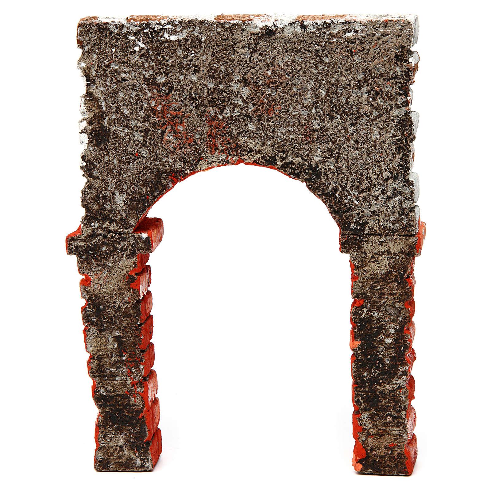 Arco belén de poliestireno 25x15x5 cm 4