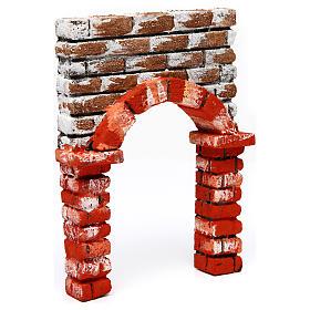 Arco belén de poliestireno 25x15x5 cm s3