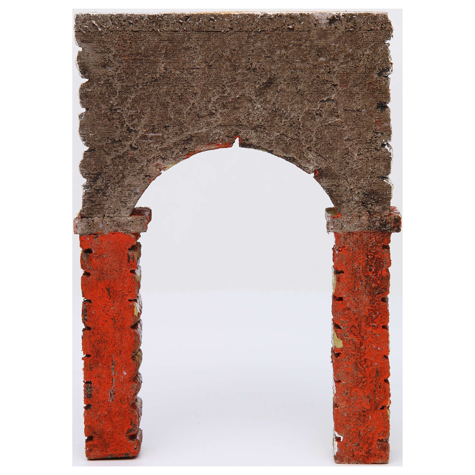 Arco pintado 30x5x20 cm belén napolitano 4
