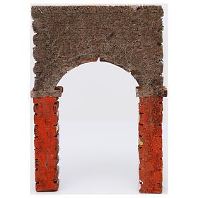 Arco pintado 30x5x20 cm belén napolitano s3