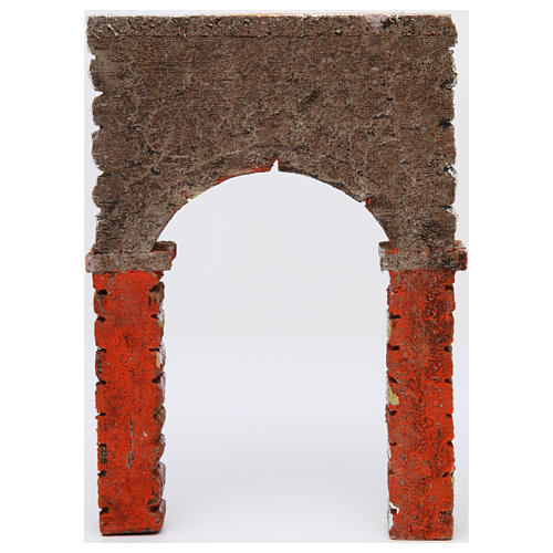 Arco pintado 30x5x20 cm belén napolitano 3
