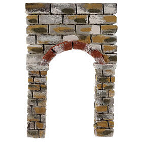 Arc peint 30x5x20 cm crèche napolitaine s1