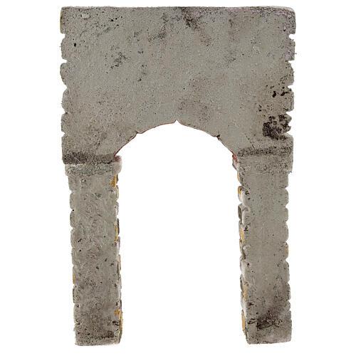 Arc peint 30x5x20 cm crèche napolitaine 4