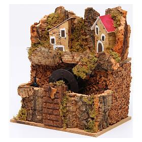 Watermill 15x15x10 cm for Neapolitan Nativity Scene s2