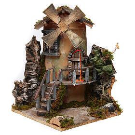 Windmill 35x25x30 cm for Neapolitan Nativity Scene s2