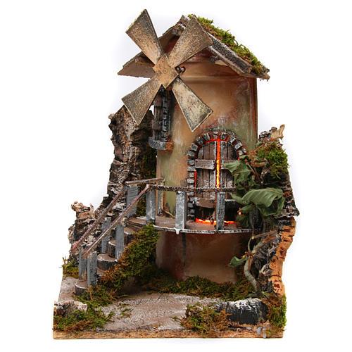 Windmill 35x25x30 cm for Neapolitan Nativity Scene 3
