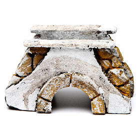 Neapolitan Nativity Scene: Bridge for Nativity Scene 10x15x10 cm for Neapolitan Nativity Scene
