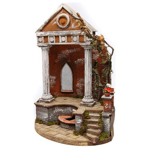 Temple 55x35x20 cm for Neapolitan Nativity Scene 2