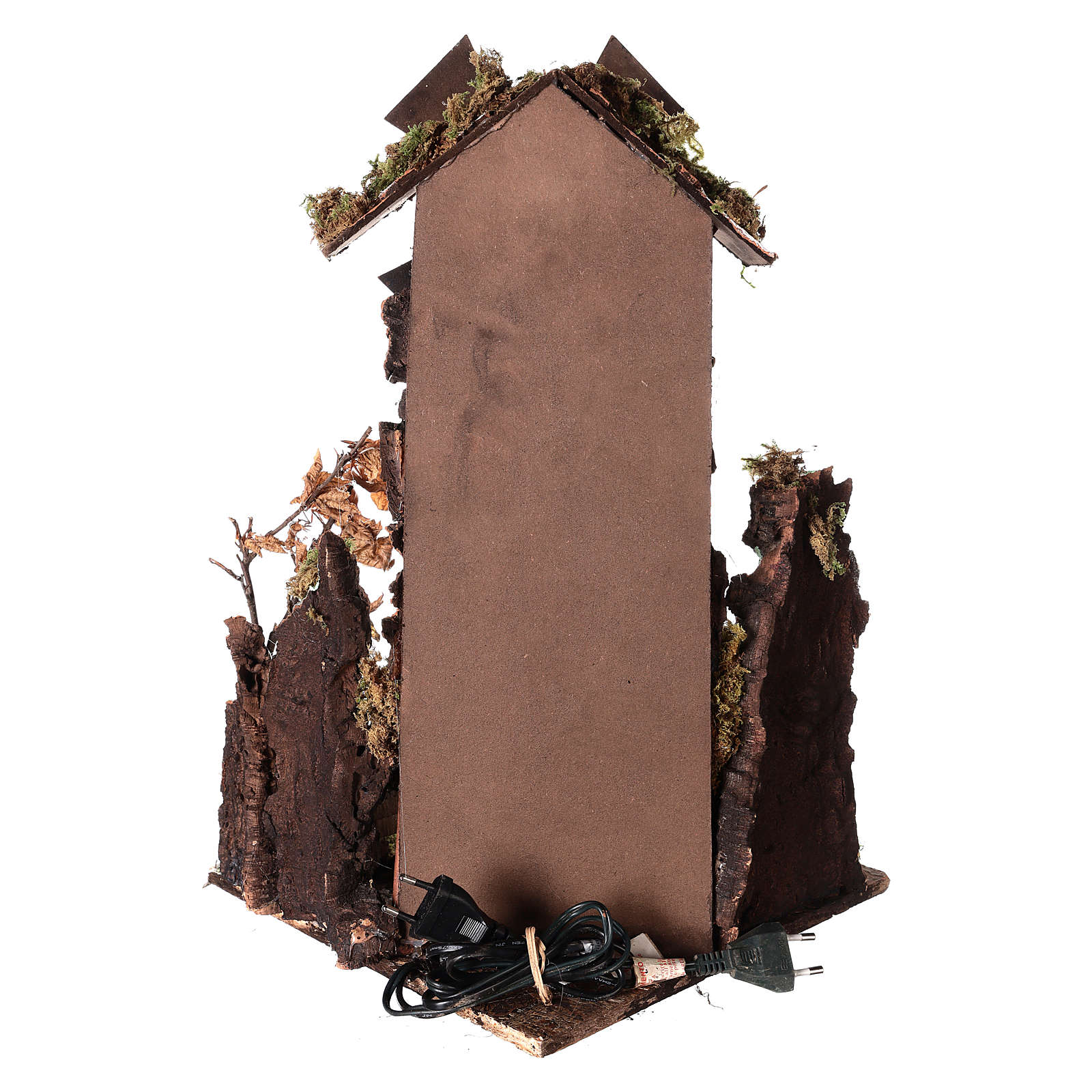 Windmill for Neapolitan Nativity scene 45x28x28 cm 4