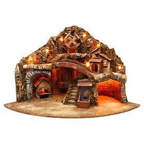 Village for Neapolitan Nativity scene 50x80x60 cm s1