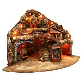 Village for Neapolitan Nativity scene 50x80x60 cm s3