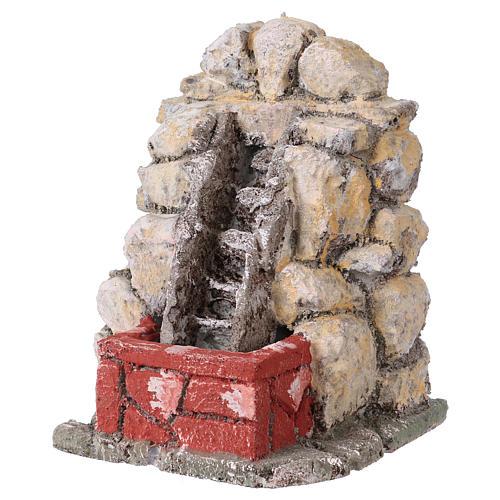 Set 5 fontane stuccate presepe napoletano 2