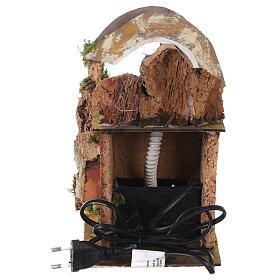 Watermill with bridge for Neapolitan Nativity Scene 20x15x20 cm s4