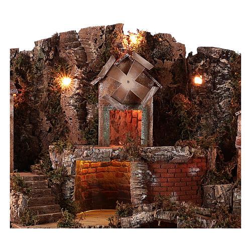Hamlet for Neapolitan Nativity scene 70x85x55 cm 2