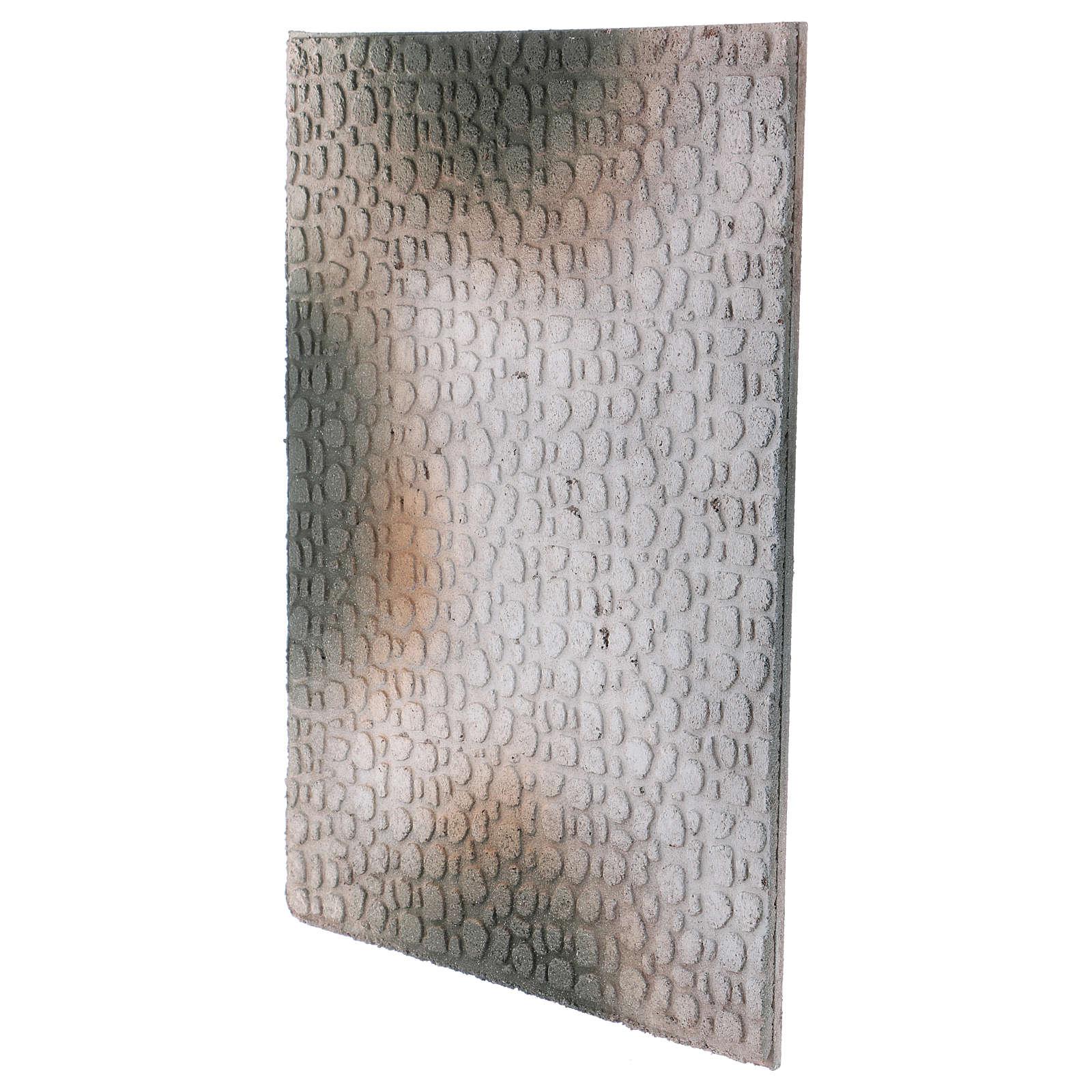Base 1x30x40 cm en liège pour crèche orientale 7 cm 4