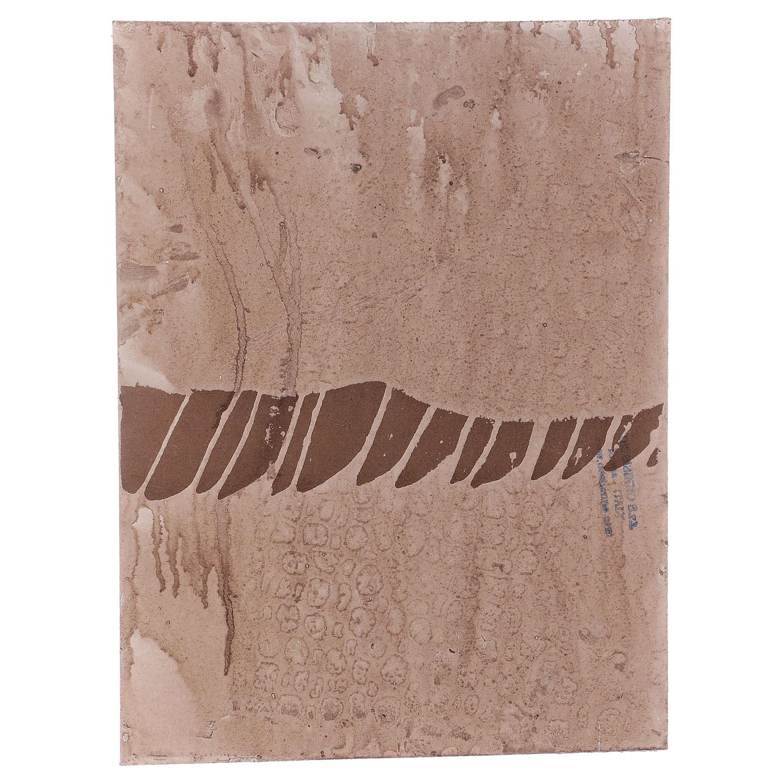 Base 1x30x40 cm in sughero per presepe orientale 7 cm 4