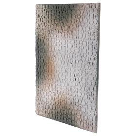 Base 1x30x40 cm in sughero per presepe orientale 7 cm s2