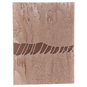 Base 1x30x40 cm in sughero per presepe orientale 7 cm s3