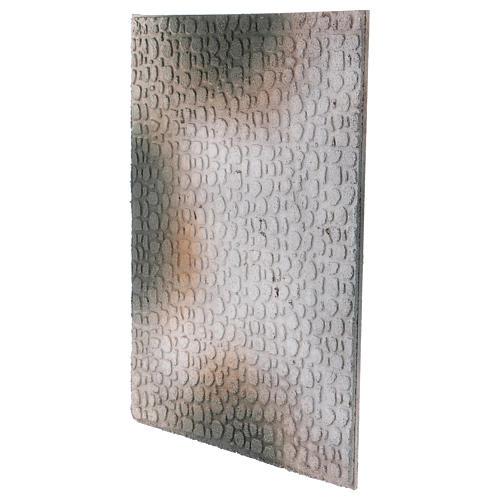 Base 1x30x40 cm in sughero per presepe orientale 7 cm 2
