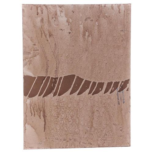Base 1x30x40 cm in sughero per presepe orientale 7 cm 3