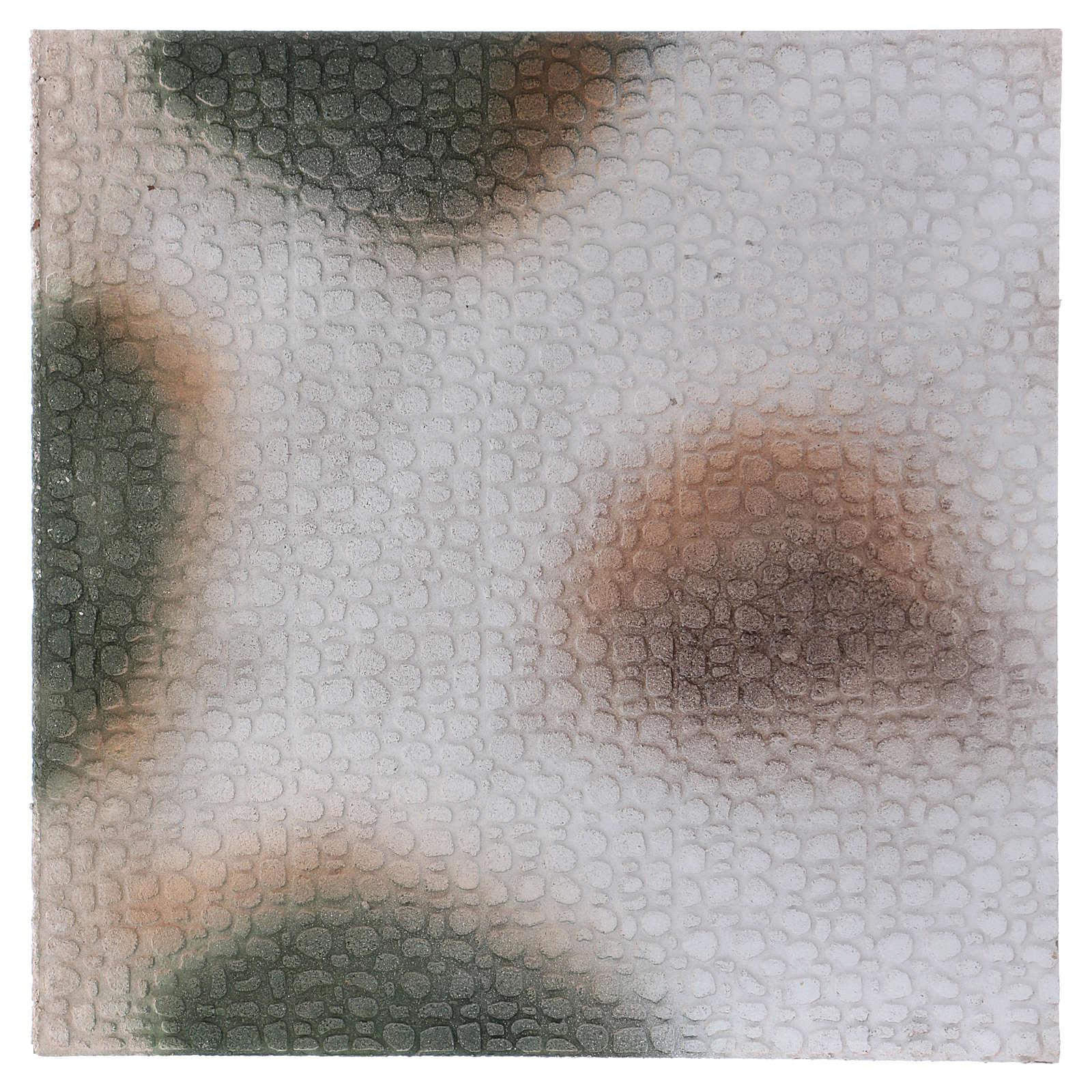 Base 1x50x50 cm de corcho para belén árabe 10 cm de altura media 4