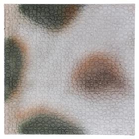 Fondos y pavimentos: Base 1x50x50 cm de corcho para belén árabe 10 cm de altura media