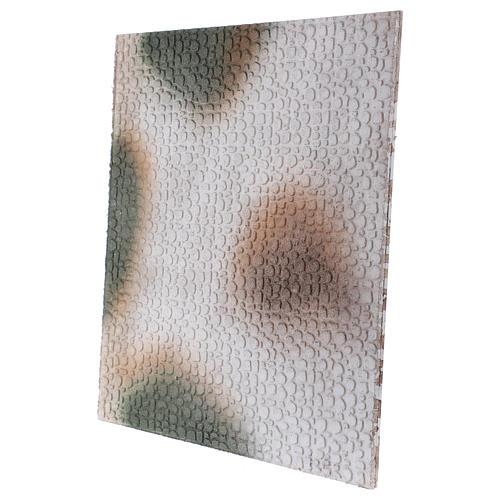 Base 1x50x50 cm in sughero per presepe arabo 10 cm 2