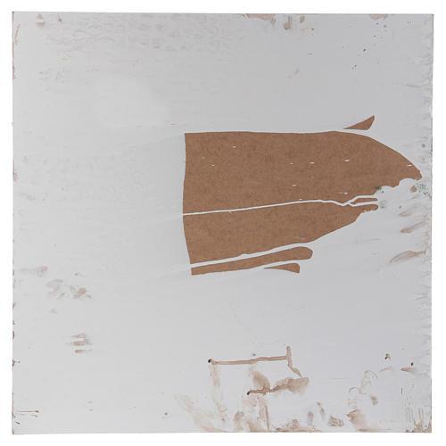 Base 1x50x50 cm in sughero per presepe arabo 10 cm 3