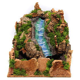 Waterfall for Nativity Scene 25x25x40 cm s1
