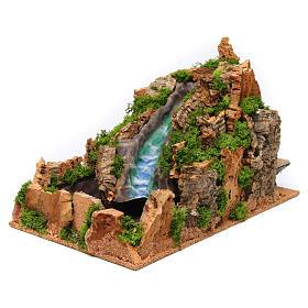 Waterfall for Nativity Scene 26x26x43 cm s2