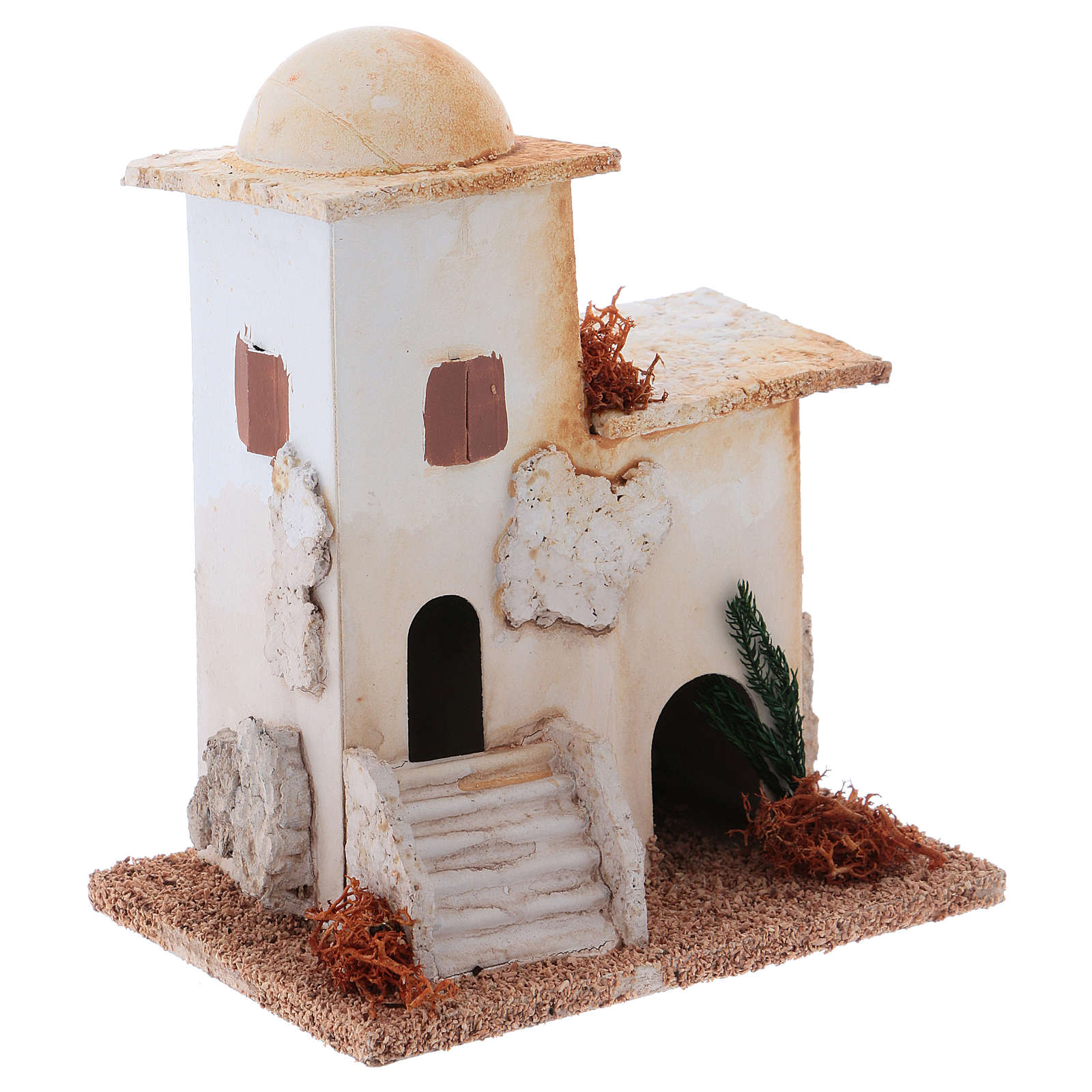Minareto per presepe 10x10x10 cm 4