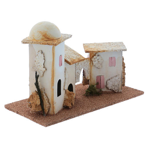 Double minaret for Nativity Scene 15x20x10 cm 3