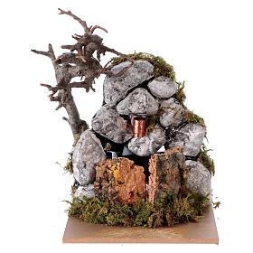 Fountain with pump for Nativity Scene 10x10x15 cm s1
