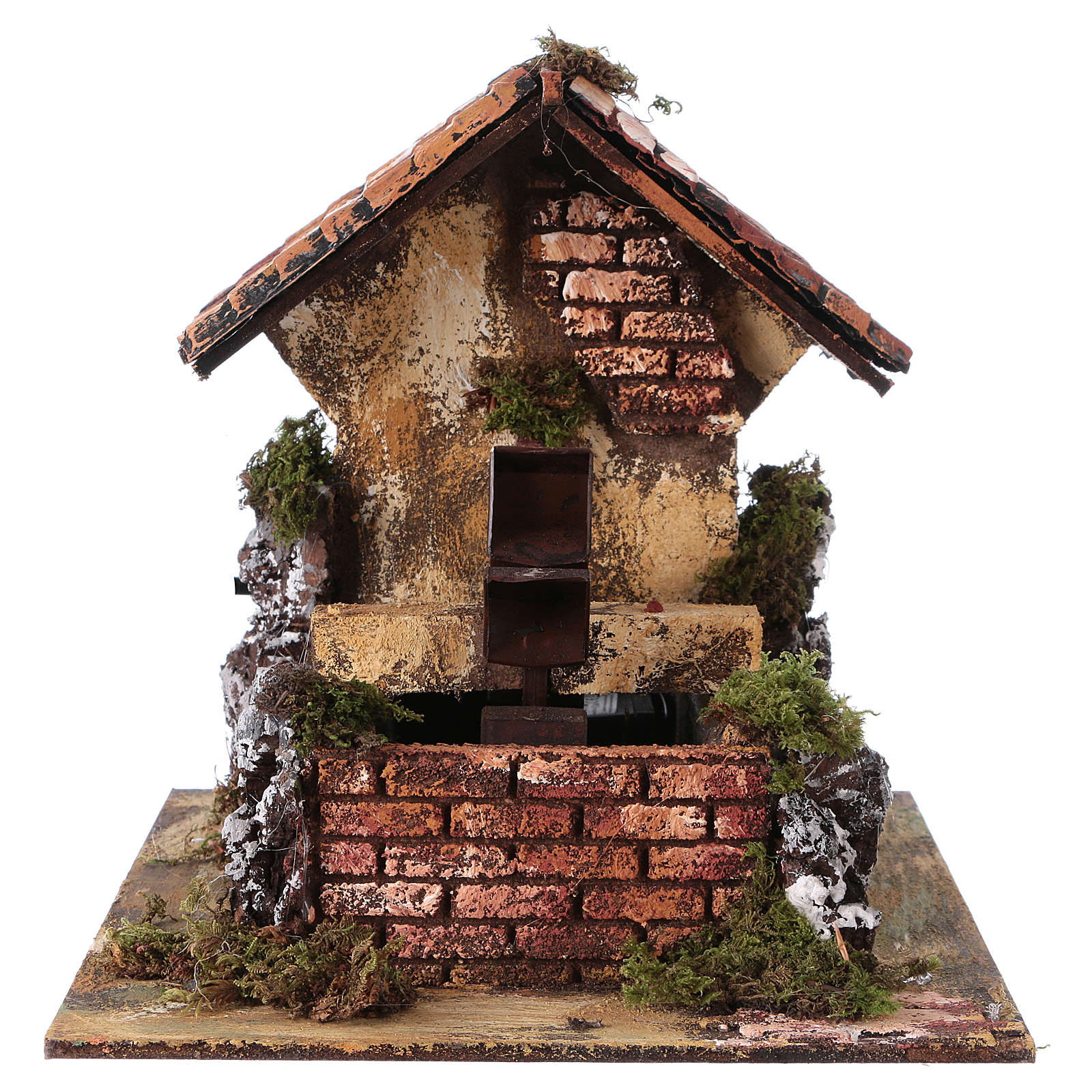 Watermill 20x25x25 cm for Nativity Scene 4