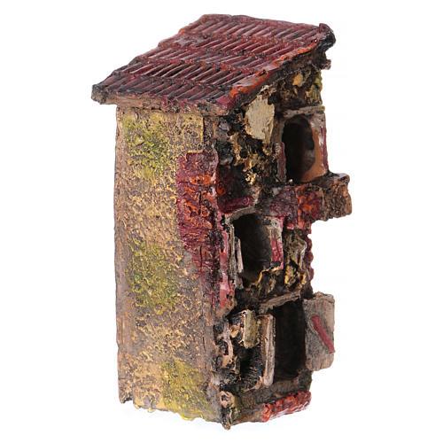 House in resin 5x10x5 cm for Nativity Scene 2