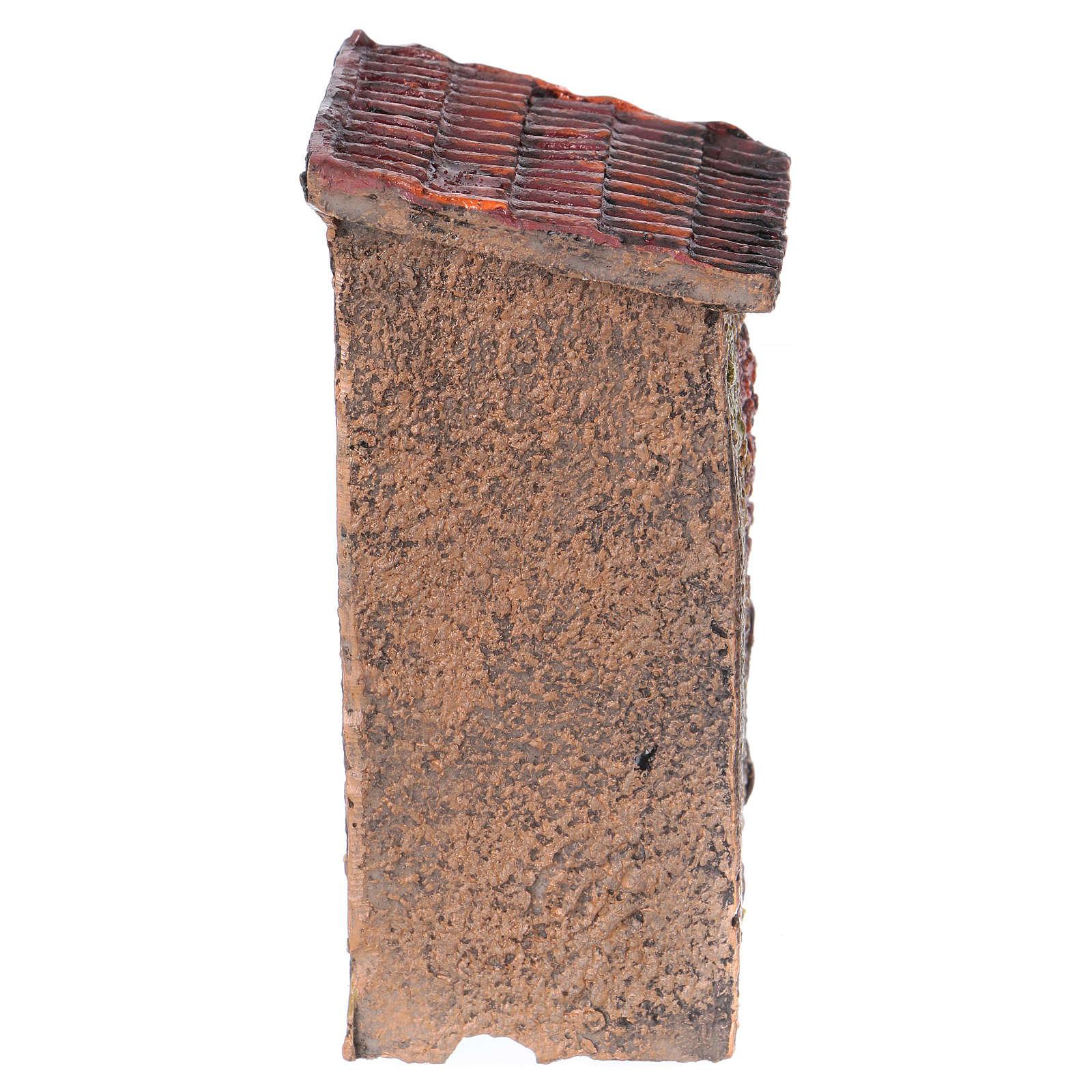 Casita de resina 5x10x5 cm para belén 4