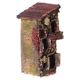 Casita de resina 5x10x5 cm para belén s2