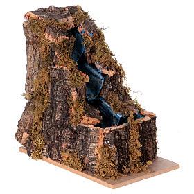 Cascada con 3 escalones belén Nápoles 10x10x5 s3