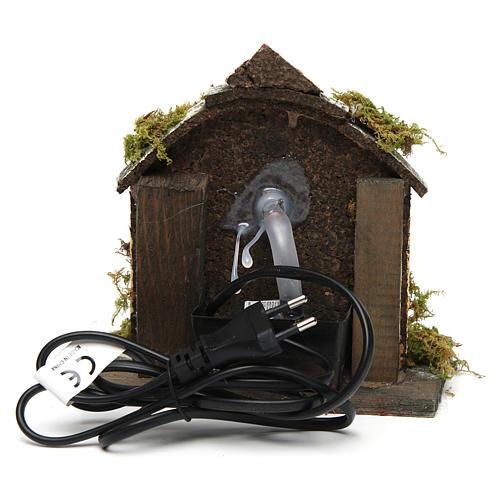 Fountain for Nativity scene with pump 15x10x10 cm 4