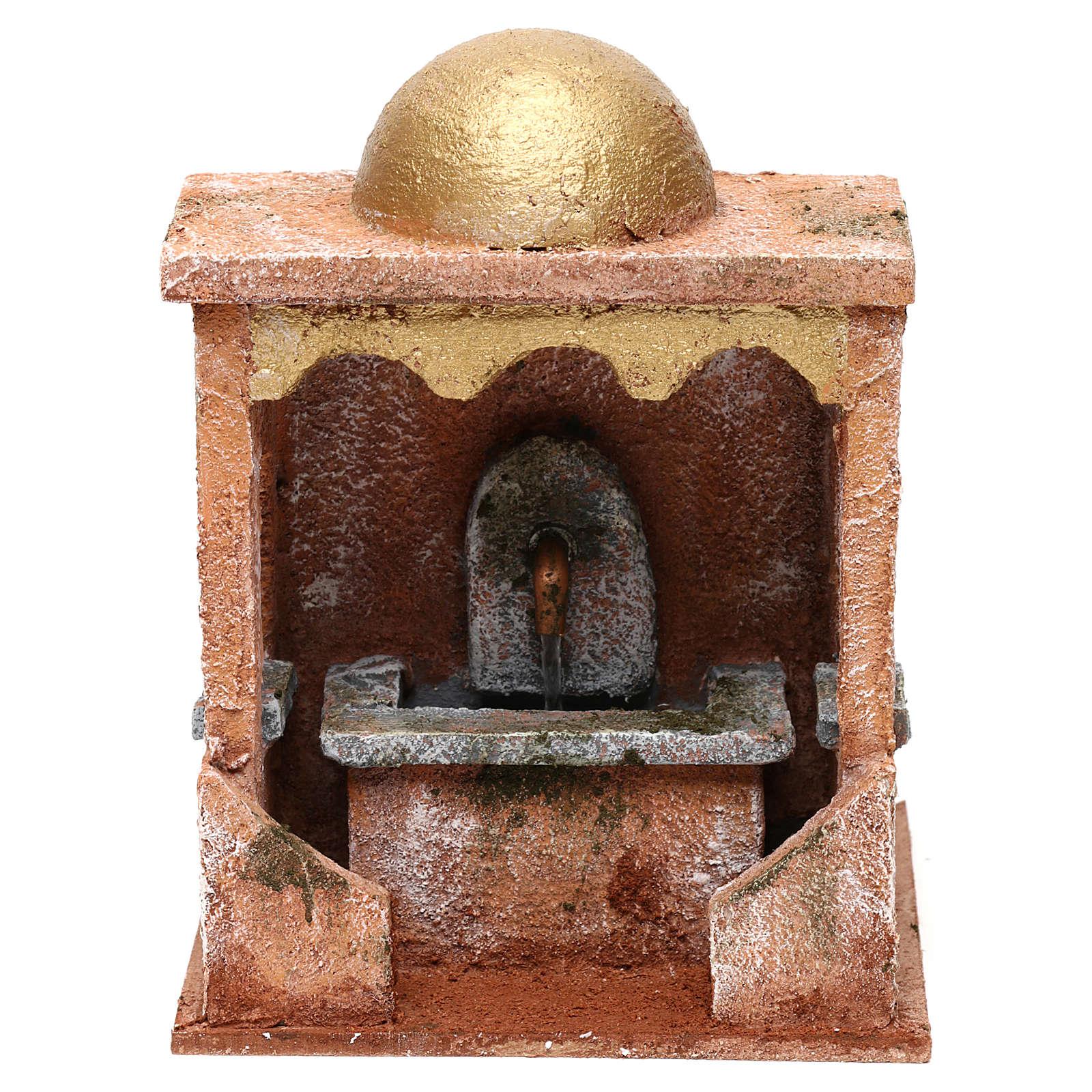 Electric fountain for Nativity scene 20x15x15 cm 4