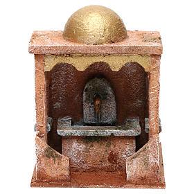 Electric fountain for Nativity scene 20x15x15 cm s1