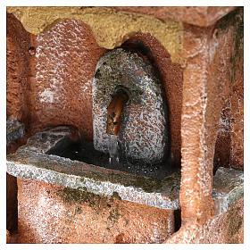 Electric fountain for Nativity scene 20x15x15 cm s2